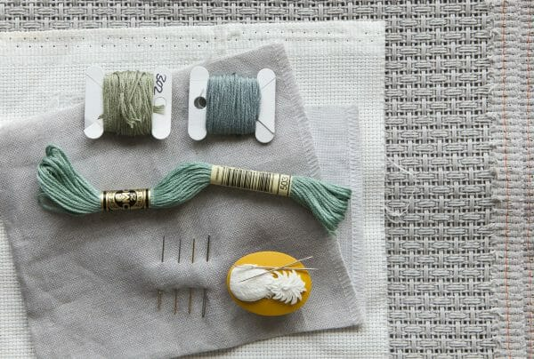 Tools Needles Thread Fabric - photo credit Stacy Grant