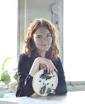 Inge Tiemens, Hand & Lock Prize for Embroidery winner