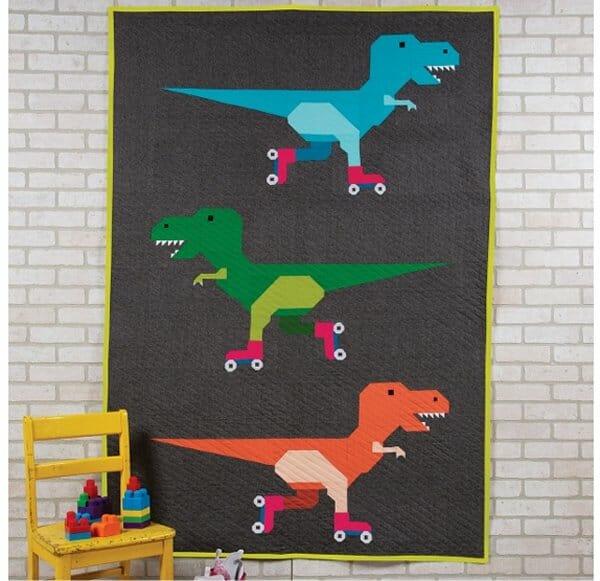 Dinorama Quilt Kit