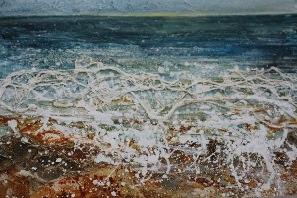 stitched seascapes