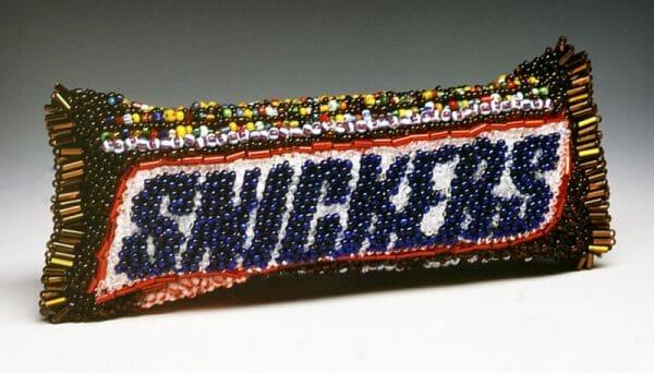Textile Sweets - Linda Dolack's Beadwork Snickers
