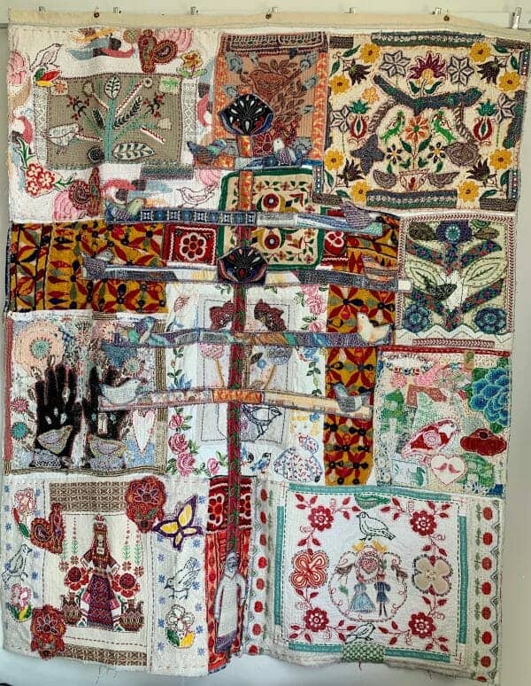 Anne Kelly's Quarantine Quilt