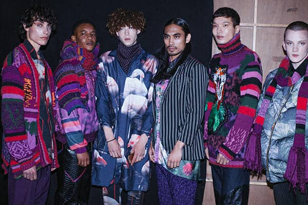 An embroidered men's collection, by Daisy Rawson