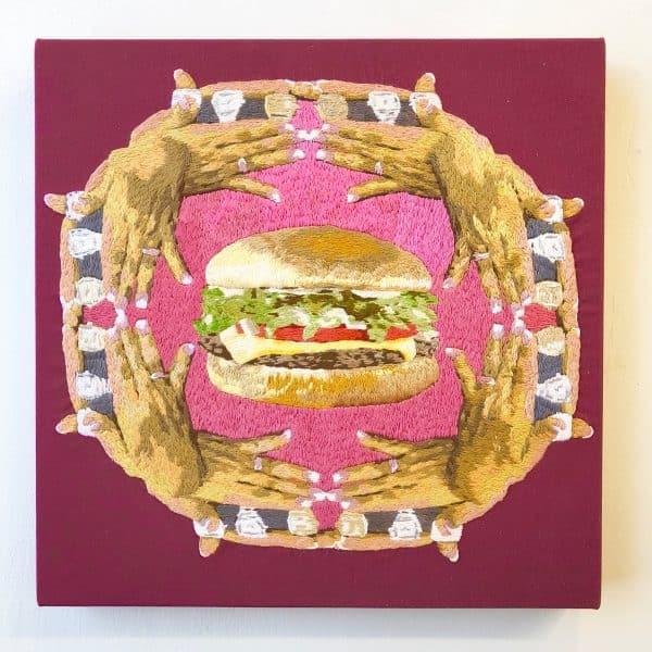 Kim Pterodactyl - Handburger
