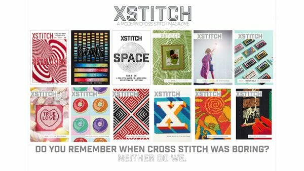 XStitch Magazine's Twelve Covers