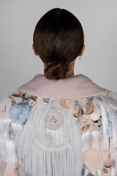 Embroidery detail, Sophie Elisabeth Reynolds