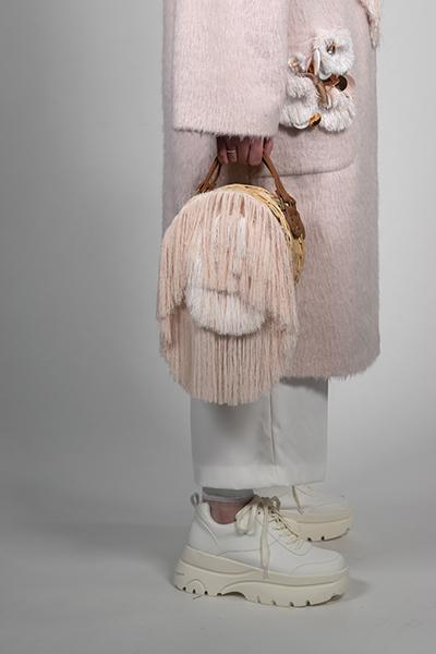 Handbag with coat by Sophie Elisabeth Reynolds