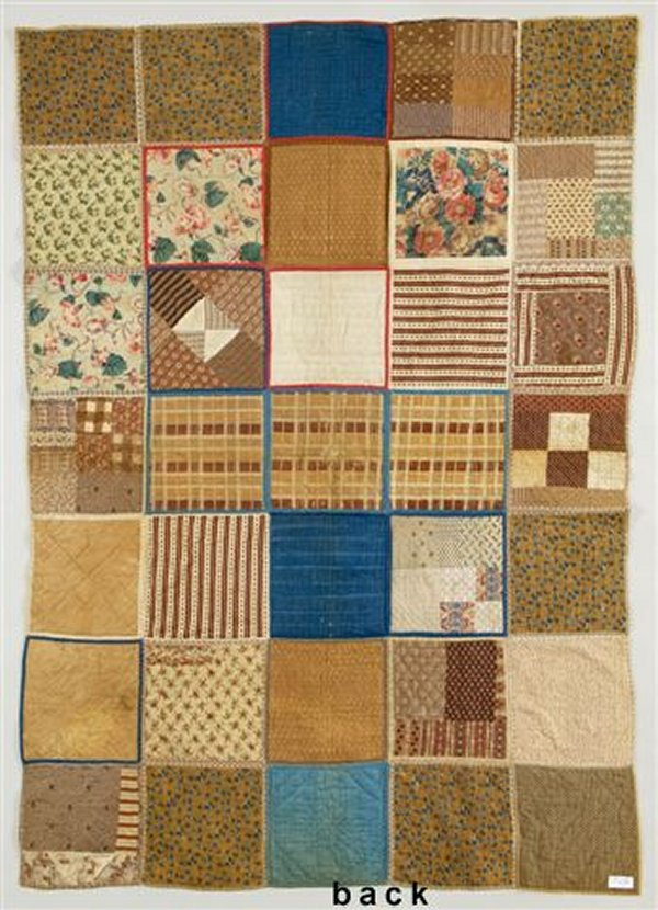 American Cot Quilts from the Civil War