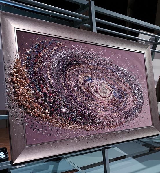 Andromeda, Samantha Trevis 2nd Place Textile Art Open Category
