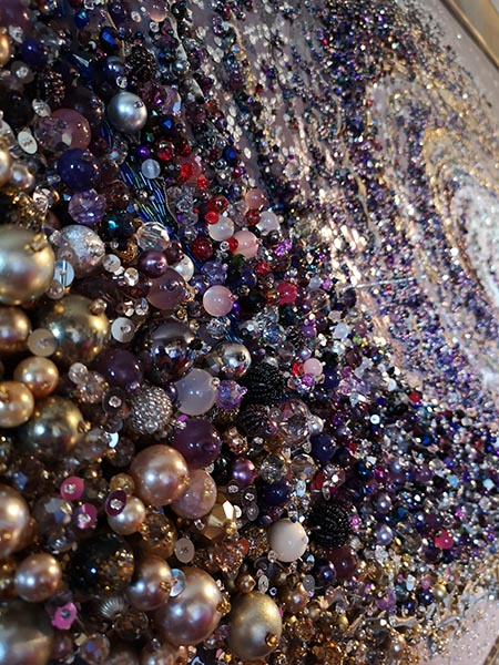 Andromeda beadwork detail 4 by Samantha Trevis