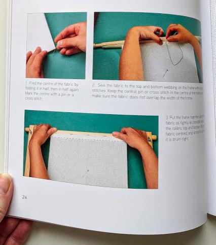 Beginner's Guide to Blackwork by Lesley Wilkins - step by step guides