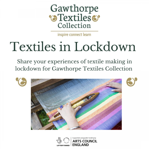 Textiles In Lockdown with Ruth Singer and Gawthorpe Textiles Collection