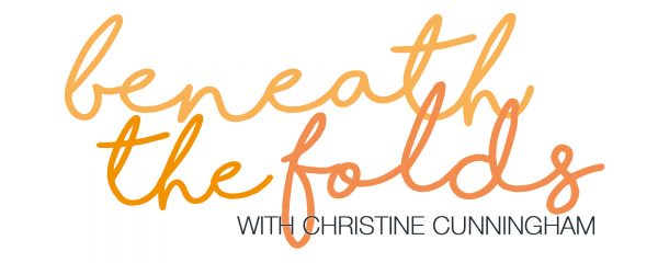 beneath the folds with Christine Cunningham explores ABSTRACT  AUTUMN