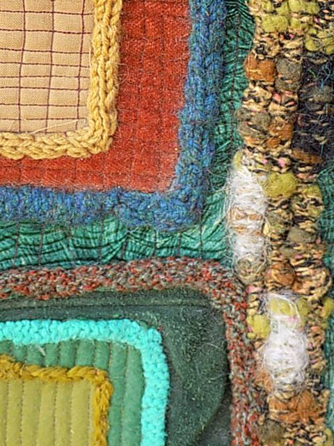 ABSTRACT AUTUMN - WOOLEN COCOONS
