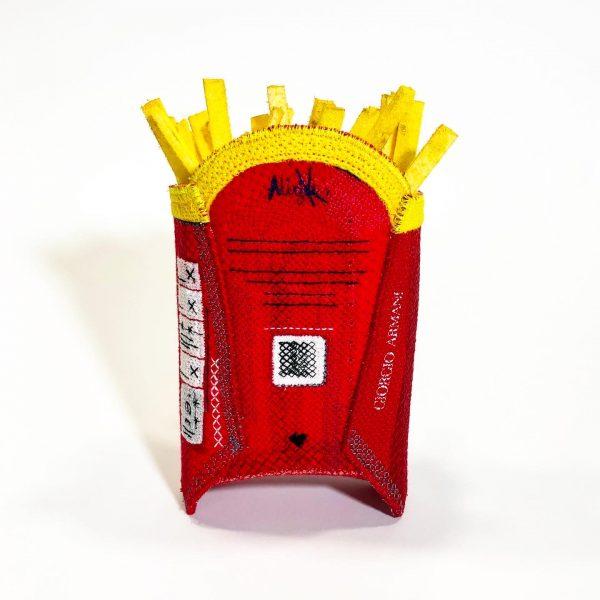 Alicja Kozłowska  Stitching it real column  MacDonald's chips   Fast food art