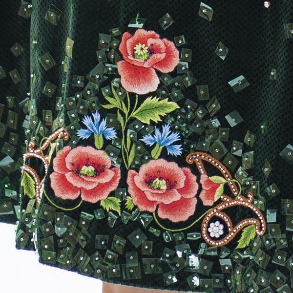 Poppy detail, Joanna Galica-Dorula. Photo by Jutta Klee.