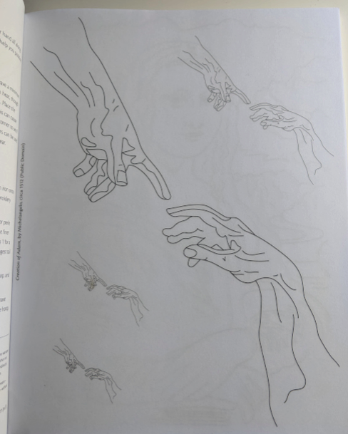 More drawings from inside the book. Stitch a Masterpiece by C&T Publishing