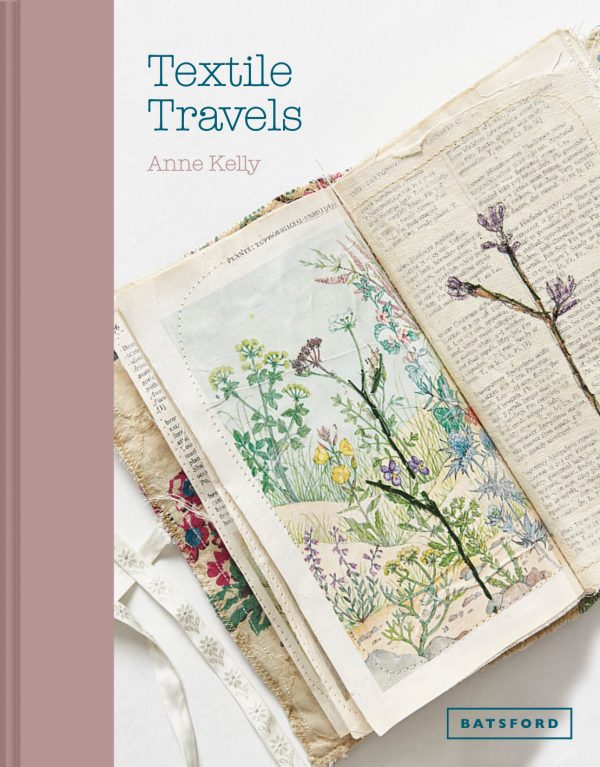 Anne Kelly - Textile Travels   Book Cover