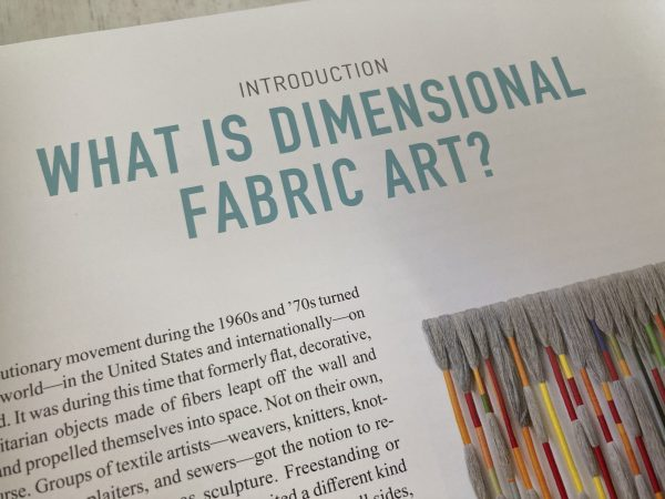 What is this type of art?  This section explains.  Contents List for Dimensional Cloth: Sculpture by Contemporary Textile Artists