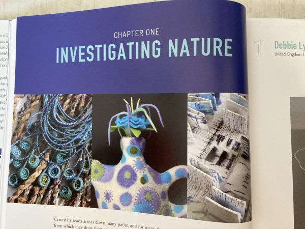 Chapter One - nature  Dimensional Cloth:  Sculpture by Contemporary Textile Artists by Andra F.  Stanton