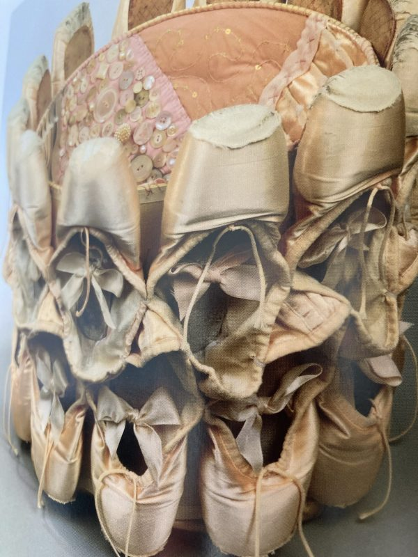 Ballet slipper lampshade Emily Dvorin  Dimensional Cloth:  Sculpture by Contemporary Textile Artists by Andra F.  Stanton