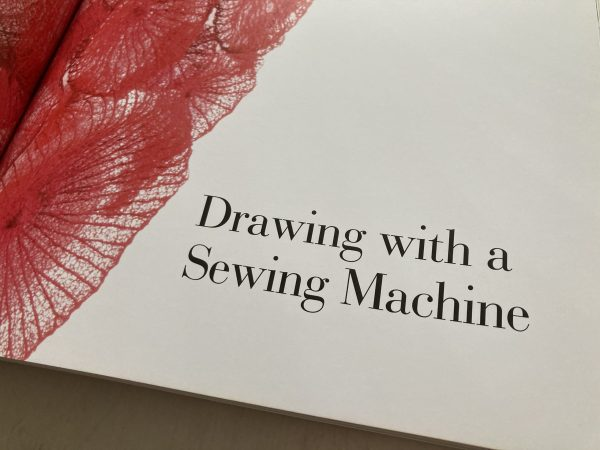 Organic Embroidery by Meredith Woolnough - Up lose needlework and free motion embroidery chapter sections