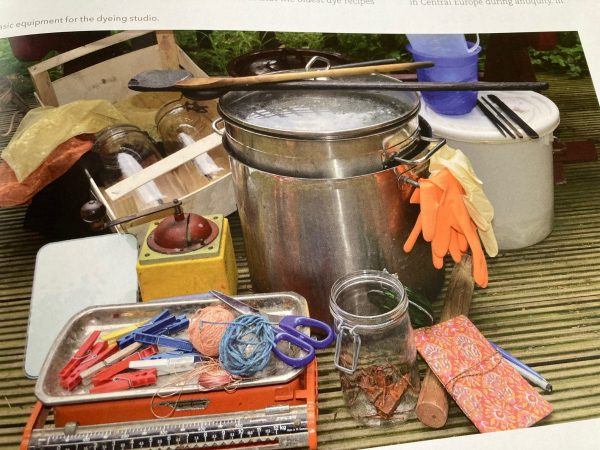 Natural Dyeing with Plants: Glorious Colors from Roots, Leaves & Flowers - dyeing tools